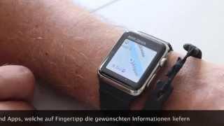 So funktioniert die Apple Watch