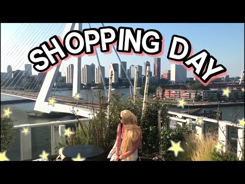 vlog 17: shopping day with the girls in Rotterdam!