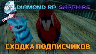 Diamond RP Sapphire #14 - Сходка подписчиков [Let's Play]