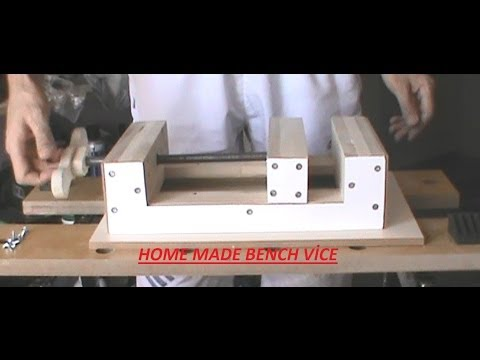 HOME MADE BENCH VİCE - TEZGAH MENGENESİ PART-1 of 5