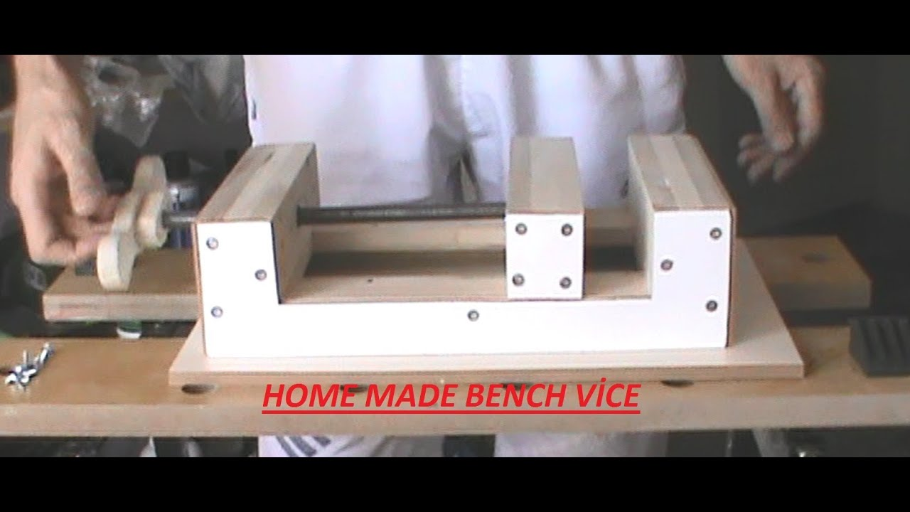 HOME MADE BENCH VİCE - TEZGAH MENGENESİ PART-1 of 5 - YouTube