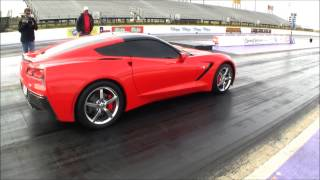 LMR- Worlds FIRST 9 Second C7 Corvette!!