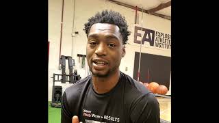 Brandon McCoy - Explosive Athletes Institute Testimonial