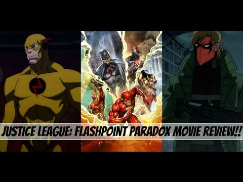 Download Justice League: The Flashpoint Paradox Movie Review!!!