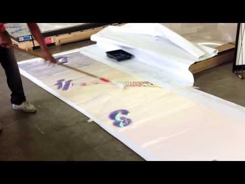 Adding a UV Gloss Clear Coat to a HP Latex inkjet printed PHOTOTex EX adhesive vinyl