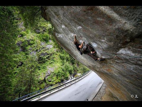 """Bellavista"" (8b+) Alpine Rock Climb - Robbie Phillips"