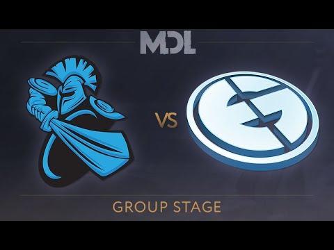 Newbee vs EG - MDL 2017 Group Stage - @LD @Merlini @Luminous