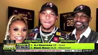 Antoine Winfield Jr. Interviewed During 2020 NFL Draft