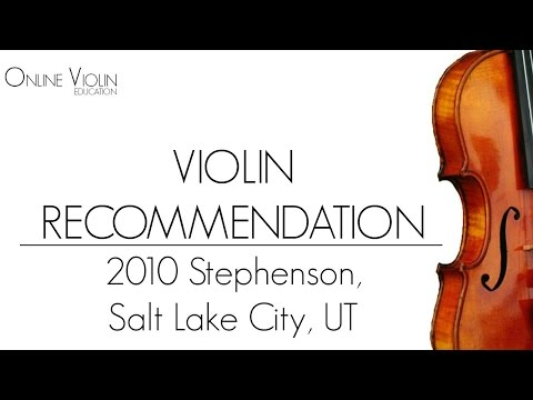 Violin Recommendation