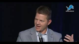 Breaking Down Lions OC Darrell Bevell Season Ticket Holders Meeting