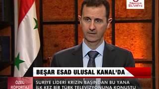 Beşar ESAD Ulusal Kanal'da Türk Milletine Seslendi !