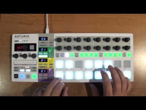 BeatStep Pro melodic