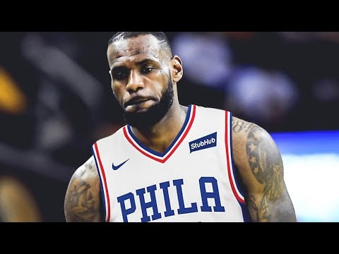 LeBron James SIGNING with the Philadelphia 76ers This Summer!!?
