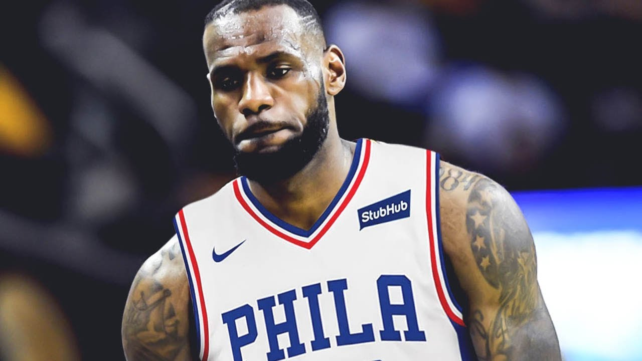 5b13ee3e844c LeBron James SIGNING with the Philadelphia 76ers This Summer ...