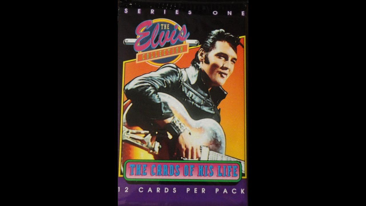 Whats Inside The Elvis Collection Trading Cards Series 1 1992