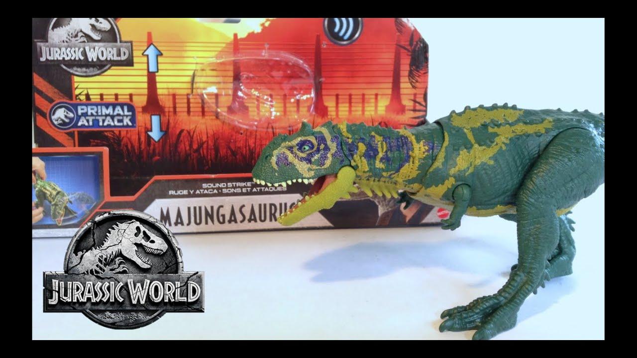 Majungasaurus Jurassic World Primal Attack Review