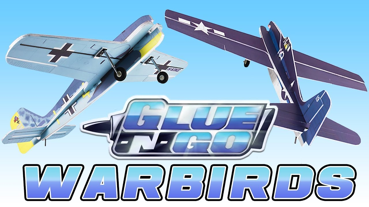 News H-King Glue-N-Go Warbirds - RC Groups