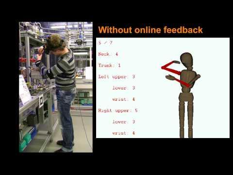 Online Ergonomic Assessment in an Industrial Environment