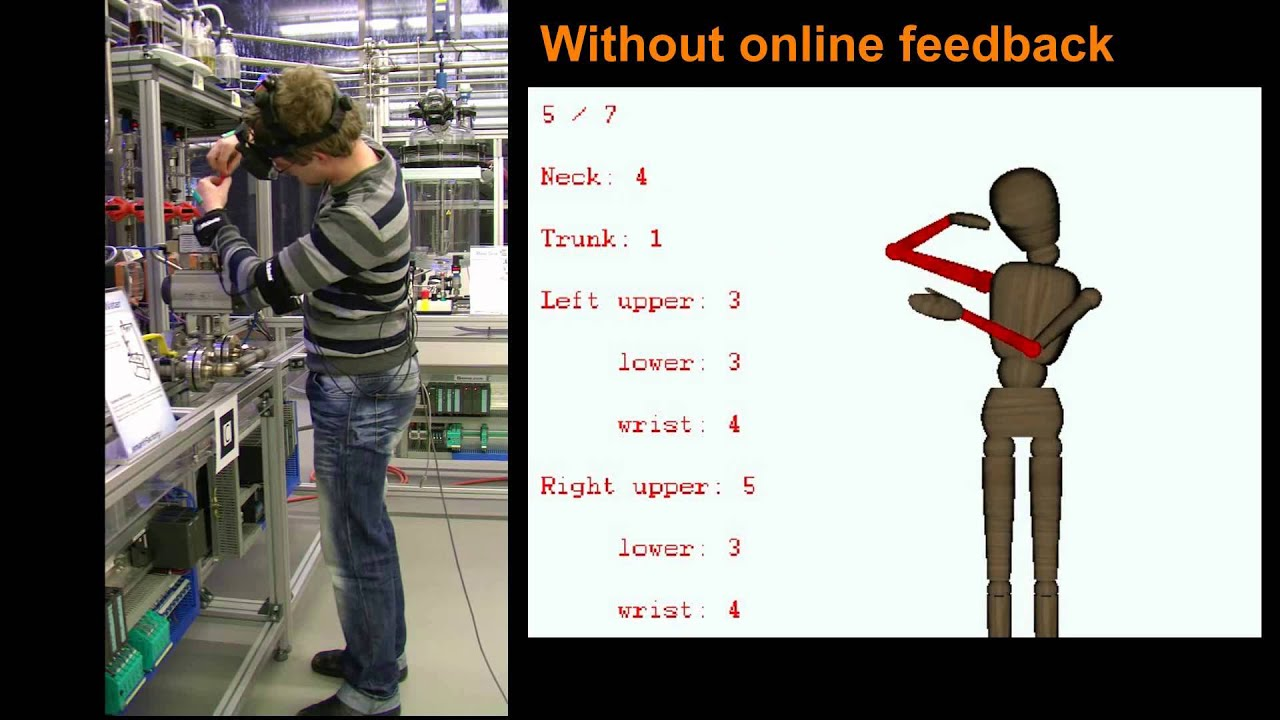 Online Ergonomic Assessment in an Industrial Environment - YouTube