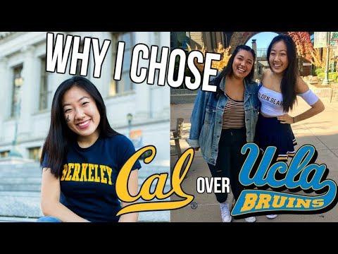 WHY I CHOSE UC BERKELEY OVER UCLA // PART 1