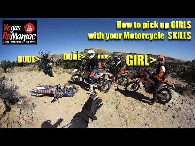HOW to impress and pick up GIRLS with your DIRTBIKE!
