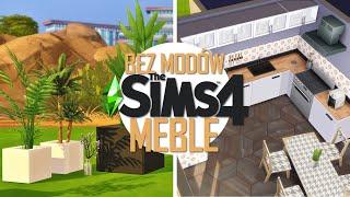 FUNKCJONALNE MEBLE BEZ MODÓW do The Sims 4🤯 | PORADNIK