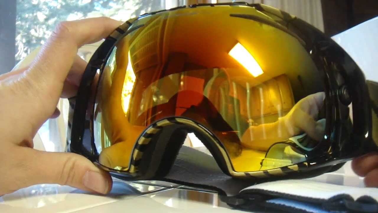 oakley airbrake snow goggles 3ikm  Changing and replacing the Oakley Airbrake goggle lens