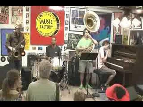 John Ellis @ Louisiana Music Factory JazzFest 2008