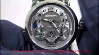 MB 102337  star nicolas rieussec chronograph ....how second time zone device works  review