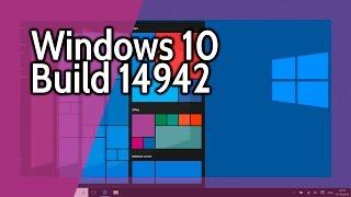 Novedades de la Build 14942 de Windows 10