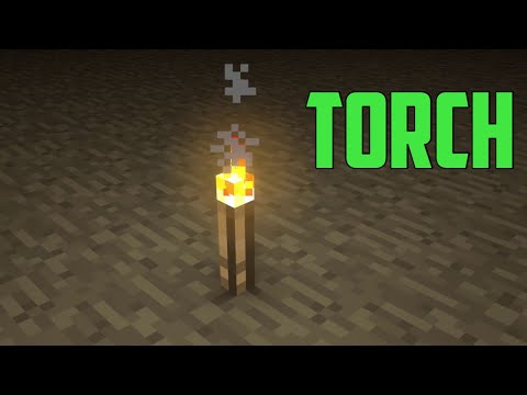 How to get torch minecraft ps4