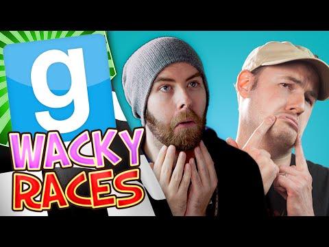 Garrys Mod Wacky Races #3 - Big Trouble (Gmod Build Challenge)
