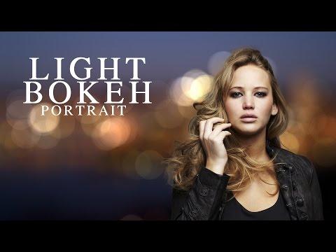 Photoshop Tutorial: Light Bokeh Background Portrait [Photoshopdesire.com]