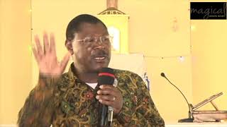 RAILA UHURU ATTACKED BY WETANGULA FOR TRYING TO DIVERT SGR FROM WESTERN REGION TO KISUMU!