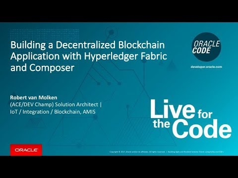 Building a Decentralized Blockchain Application with Hyperledger Fabric and Composer