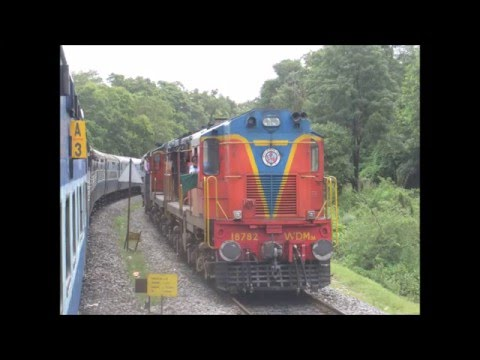Goa to Hyderabad via Dudhsagar Falls: Full Journey Compilation