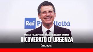 """Fabrizio frizzi è stato ricoverato al policlinico umberto i di roma. il conduttore rai ha avuto un malore durante la registrazione del programma """"l'eredità""""...."""