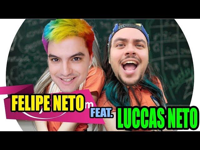 Tô BEM, tô ZEN PARÓDIA - Felipe Neto feat. Luccas Neto - montagem - Melody feat. Bella Angel