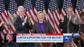 Jill Stein Calls for Recount