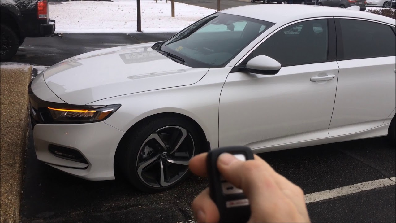 2018 Honda Accord Remote Start Installed By Extreme Audio In Richmond Va