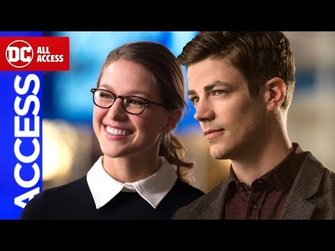 THE FLASH & SUPERGIRL: Musical Crossover Set Visit
