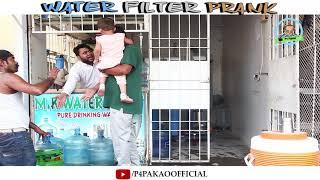 | Water Filter Prank | By Nadir Ali & Asim Sanata  In | P4 Pakao | 2018