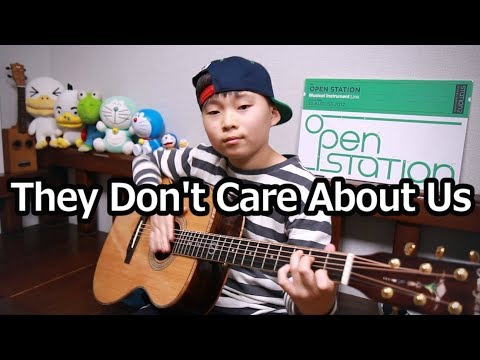 They Don't Care About Us (Michael Jackson)_  guitar arranged & cover by 10 - year-old Sean Song