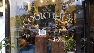 Michael Aram takes part in celebration of Cooktique's first anniversary