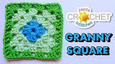 How To Crochet a Granny Square - Beginners Tutorial &amp Basic Pattern