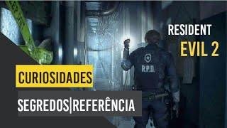 Resident Evil 2 Remake PS4   Segredos/Curiosidades/Referências  Da DEMO