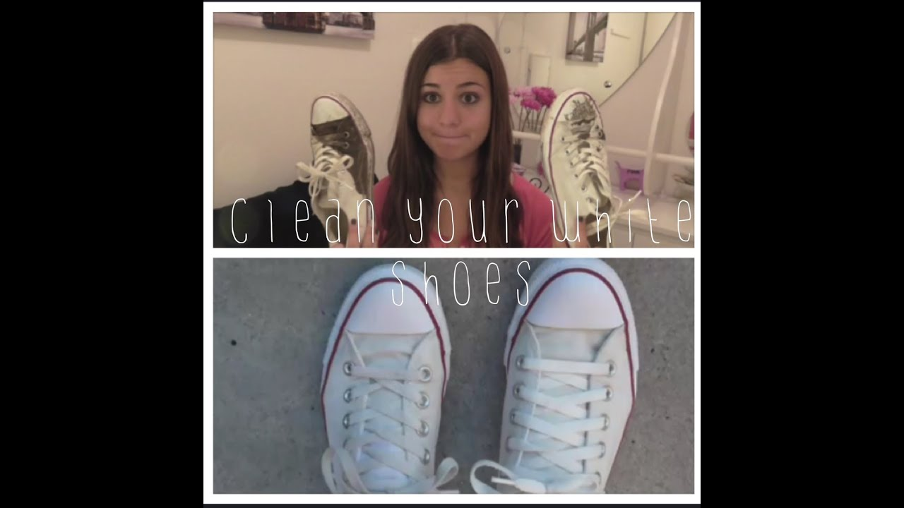 how to bleach white converse in the washing machine