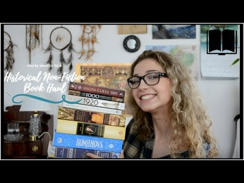 Historical Haul - Non Fiction Books (Fun And Not Boring I Promise)