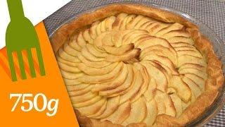 Vraie Tarte Aux Pommes Maison / French Apple Tart - English Subtitles - 750 Grammes