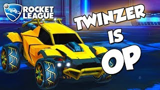 Twinzer is OP   Rocket League Montage